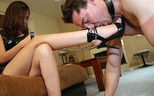 Mistress young slave